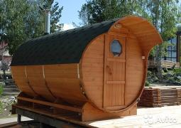 A sauna for 6 hours from the manufacturer