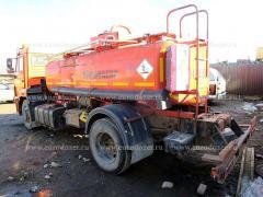Бензовоз Камаз 43253, 2012 г, 8.5 м3