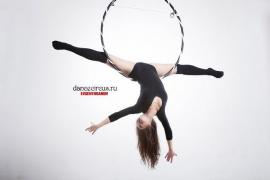 Classes on stretching and aerial gymnastics