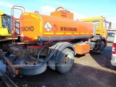 Fuel truck KAMAZ 43253, 2012, 8.5 m3