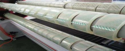 Jumbo rolls scotch, 1280 mm / 4000 m, delivery all over Russia