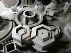Комплект немецких форм из резины для бетонных изделий