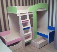 Кровать для 3-х детей