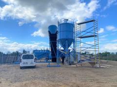 Mobile concrete plant Sumab K-60 (60 m3 / h) Sweden