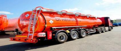 Перевозка топлива по центральной России
