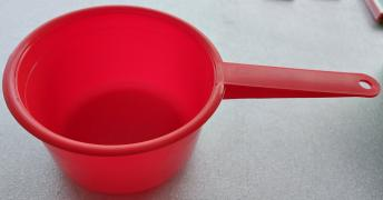 Plastic kitchen souvenirs. Sale of products for the kitchen. Publishing house