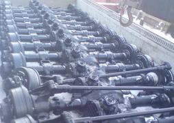 Reinforced rear axle Ural