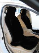 Seat covers : genuine leather, fabric+faux leather .Car mats pile on the rubber G