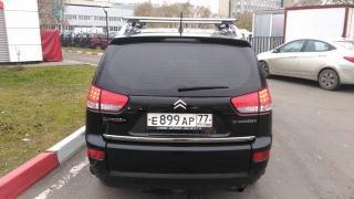 Selling Citroen C-Crosser, bought 14.12.2012