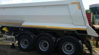 Semi-trailer tipper Katmerciler HARDOX4 22M3/4