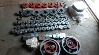 Spare parts for elevators, HPP, granaries