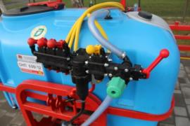Sprayers mounted