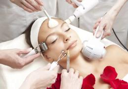 The services of a cosmetologist and dermatologist inexpensive