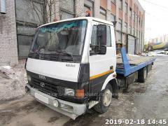Tow truck TATA 613, 2016, 4 t, 5 m, winch