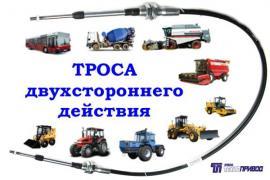 Тросы дистанционного управления. Завод Технопривод